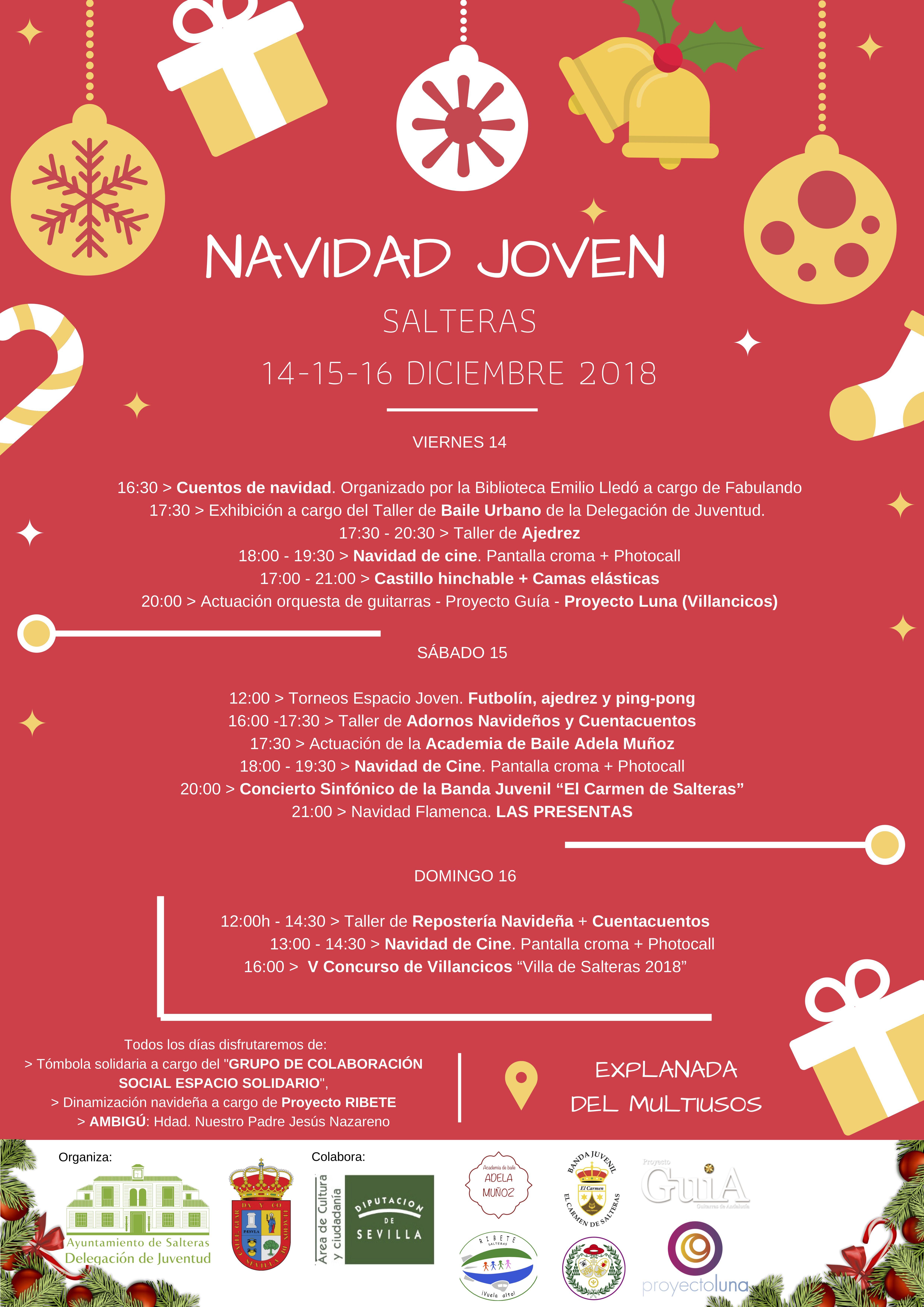 NAVIDAD JOVEN (14-16 diciembre)