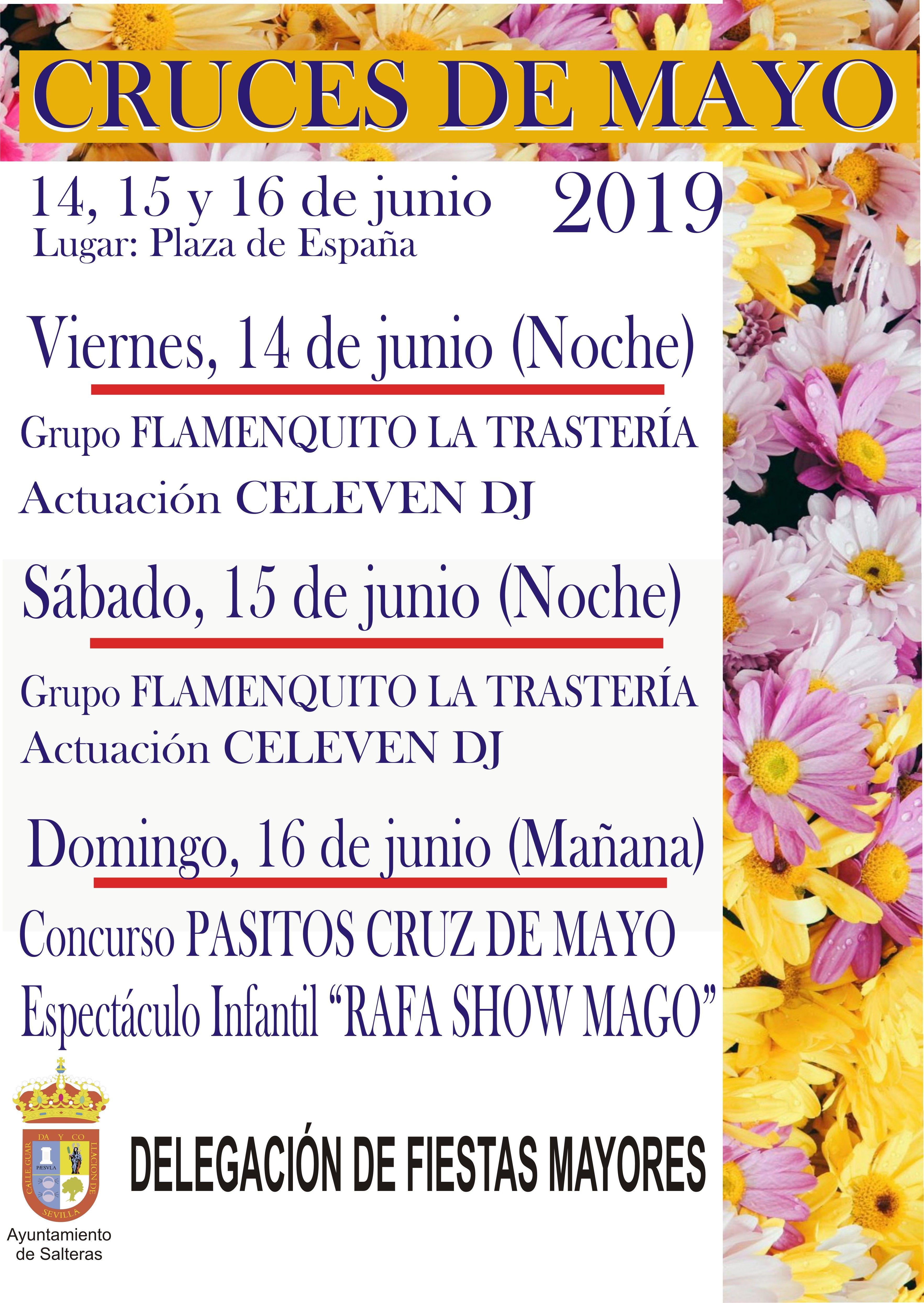 Programa de las CRUCES DE MAYO 2019