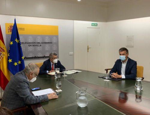CLC: Reunión del subdelegado del Gobierno en Sevilla con los alcaldes de la zona